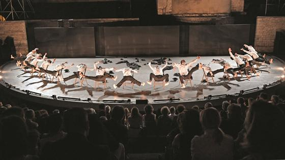 Israel's Batsheva Dance Company help open the new Shanghai International Dance Centre