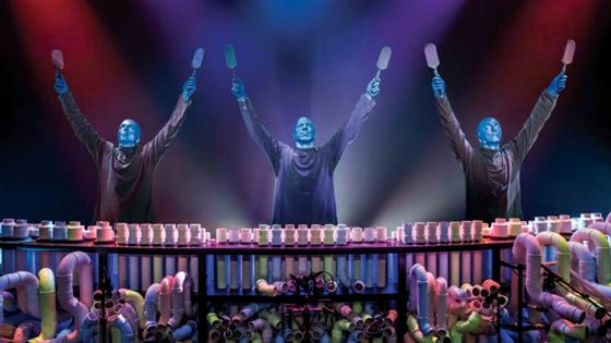 David Bray: 'Being a Blue Man is liberating'