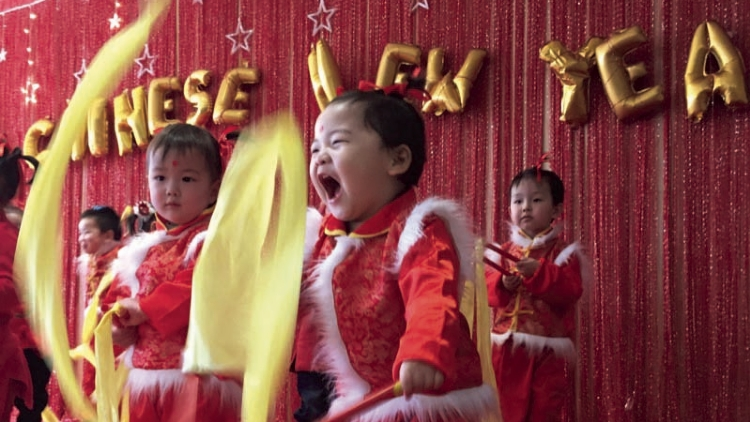 Montessori campuses ring in the new lunar year