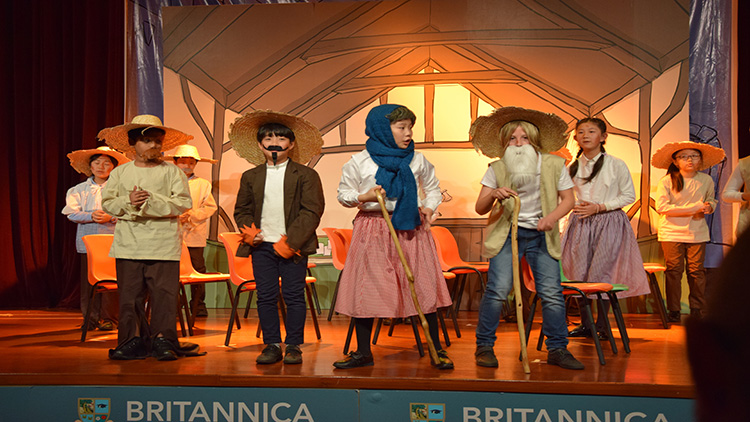 Britannica students wow audience with Rocky Monster performance