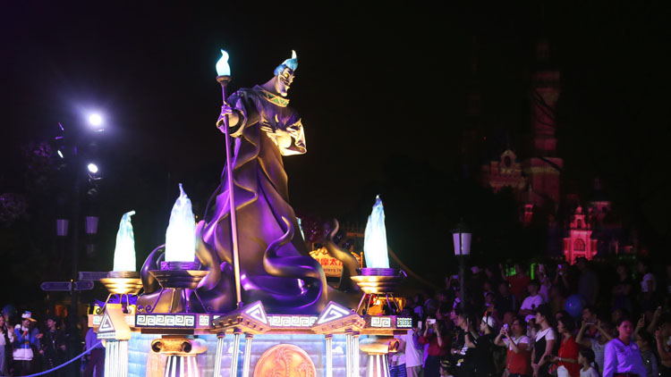 Ghastly ghouls and more across Shanghai Disney this Halloween