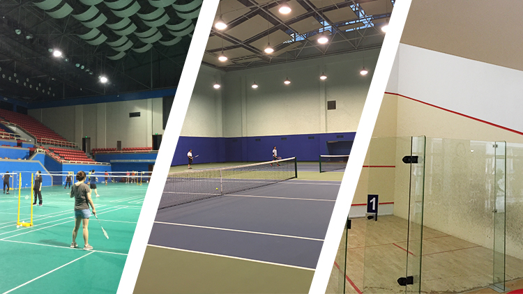 Where to play tennis, badminton and squash in Shanghai