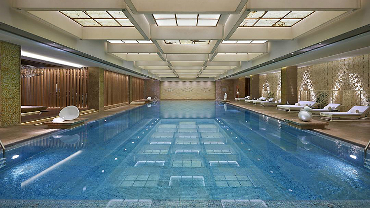 Fitness & Wellness Center at the Mandarin Oriental Pudong