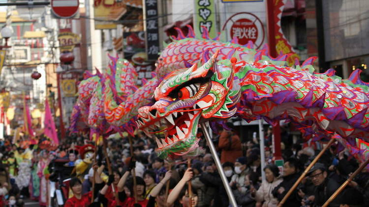 Tokyo's Chinese Spring Festival