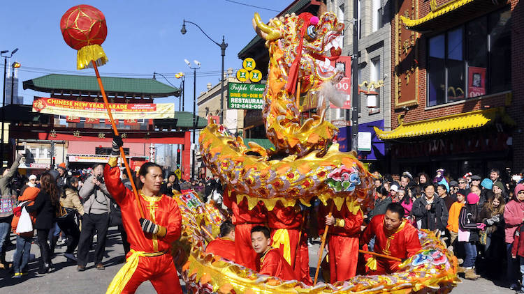 Chicago's Lunar New Year Parade