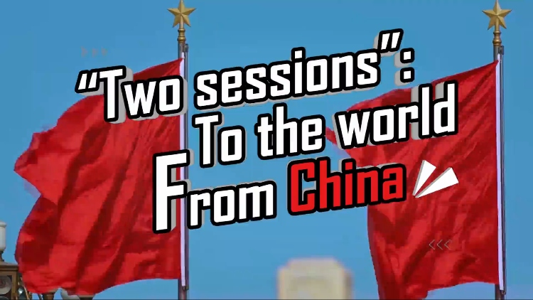 ICYMI: there's a new rap about the Two Sessions and it's, erm, lit?