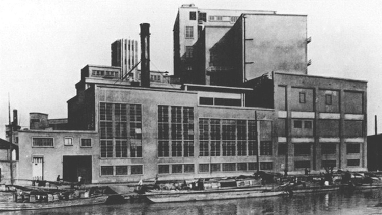 China's biggest brewery in the '30s
