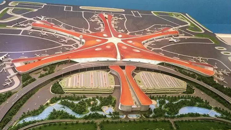 The world's biggest airport opens this year in Beijing