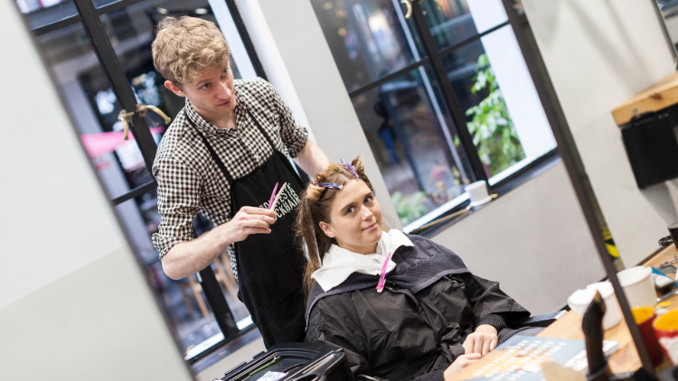 Inside Job: I tried to become a hairstylist at ContestaRockHair