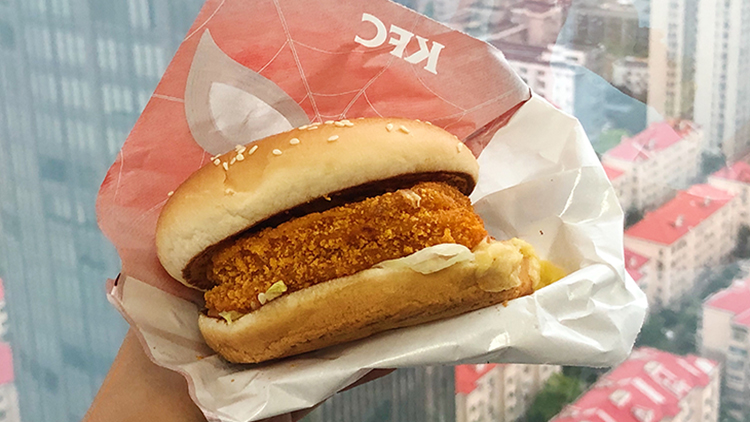 KFC has launched its first meatless burger
