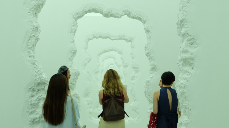 Daniel Arsham's surreal new exhibition messes with time and reality
