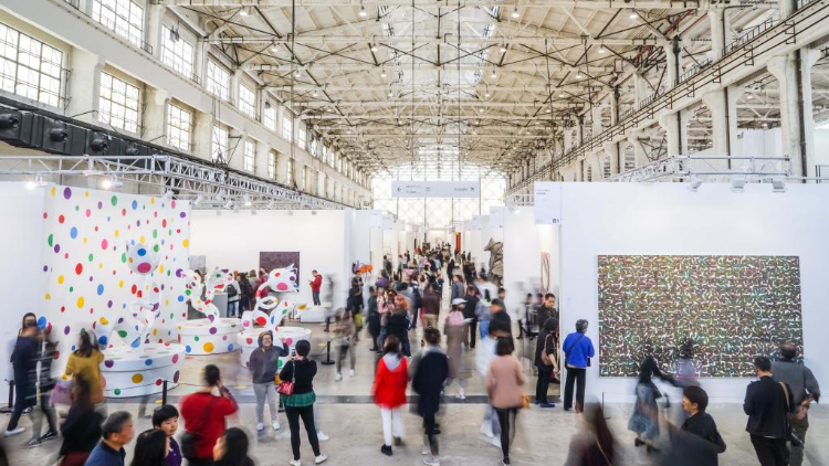Two major art fairs are returning to Shanghai next month