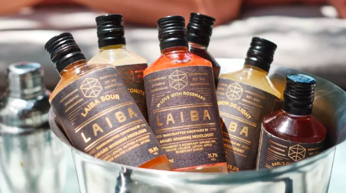 Drink for a good cause with LAIBA's home-delivered cocktails