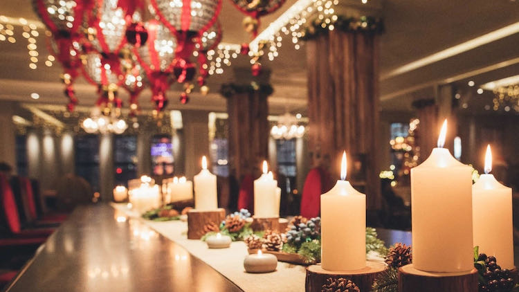 Christmas and holiday dining in Shanghai