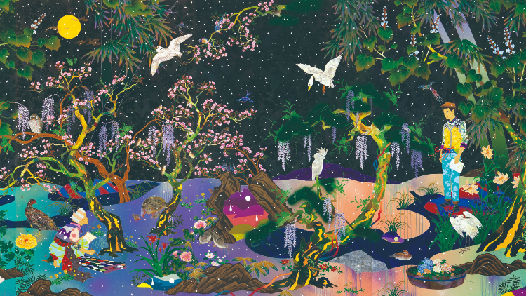 Don't miss this: Tomokazu Matsuyama's exhibit is a little Nirvana