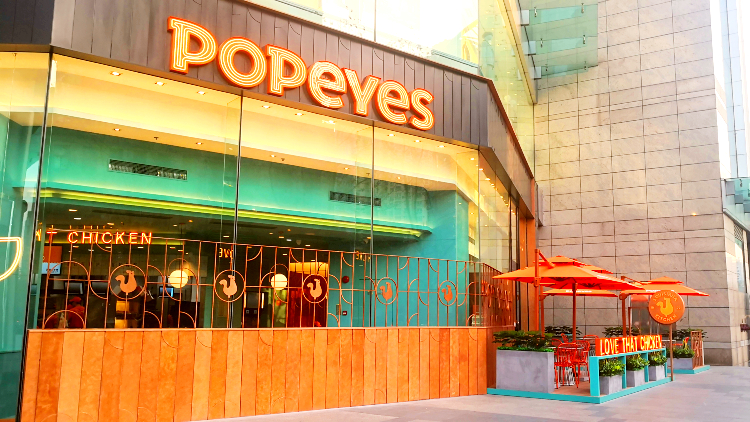 Popeyes is opening its first Pudong store this Friday with a chance to get 65 percent off