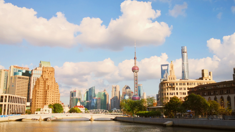 It's good news: Shanghai's PM2.5 levels are down and green spaces are on the up