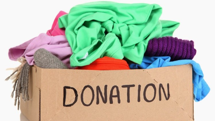 Clothing Drive at The Rooster