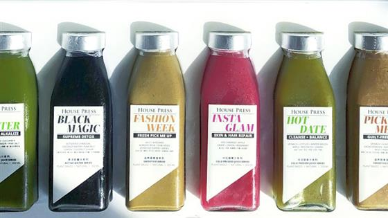 4 juices and smoothies to order to your door in Shanghai