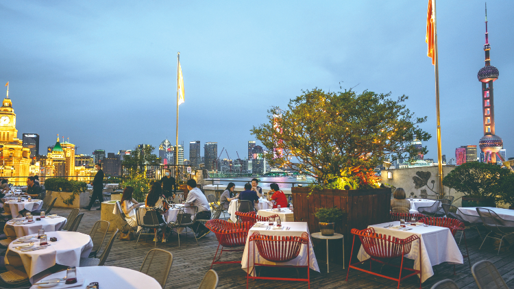 Shanghai's best al fresco restaurants
