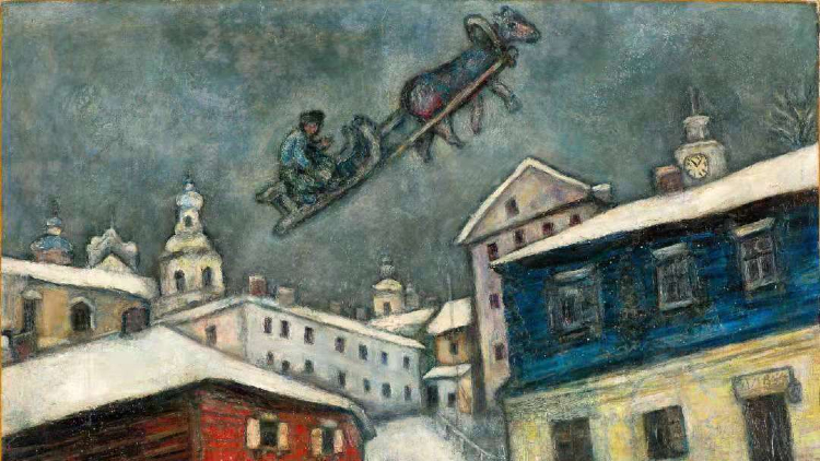 Marc Chagall: Love is the Colour